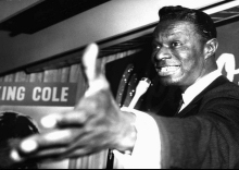 Nat King Cole in London (AP)