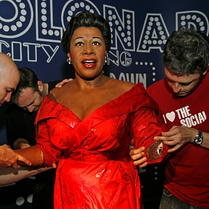 Ella Fitzgerald figure at Madame Tussauds wax museum in Washington, Sept. 12, 2007 (AP)