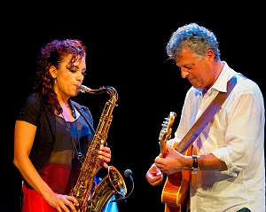 Jessy J at the Sept. 2011 Smooth Jazz Festival in Augsburg, Germany (photo by Peter Boehi)