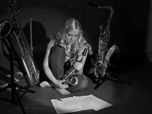 Danish musician Sarah Elgeti