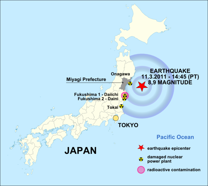 After Japan Quake The Search For A Survivor Musings On Cambodia - Japan map quake