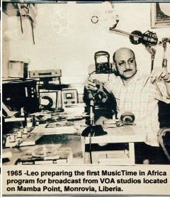 Leo's First Recording