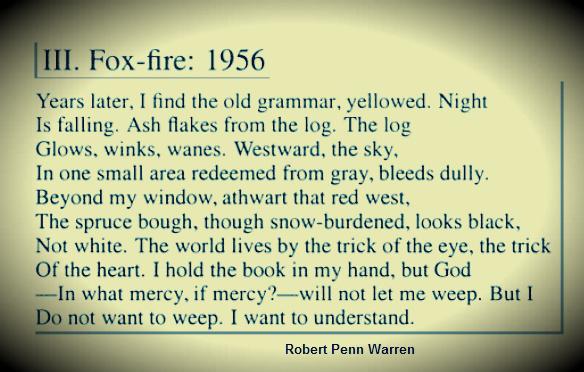 Robert Penn Warren's Poem