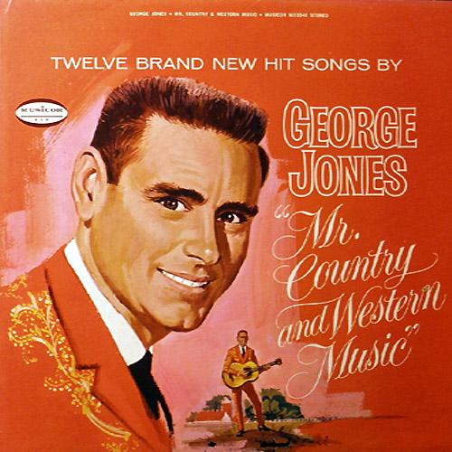 George Jones Country Music Singer