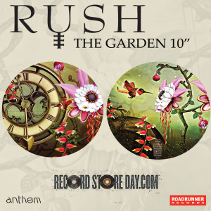 Rush has a picture disc available for the Black Friday Record Store Day November 29th.