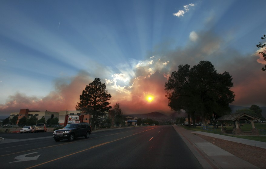 """New Mexico Wildfire"""