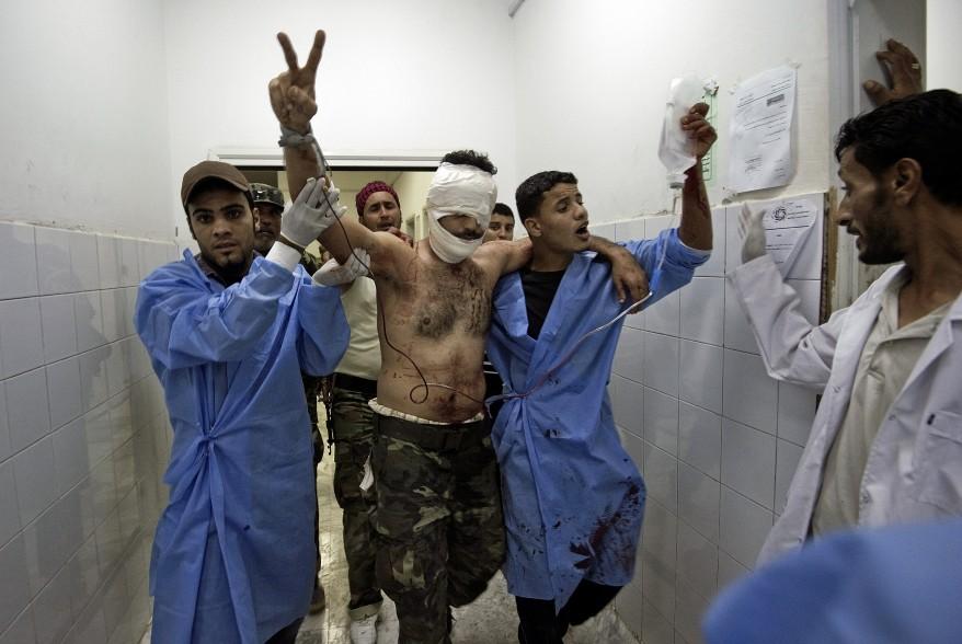 Libya-Wounded