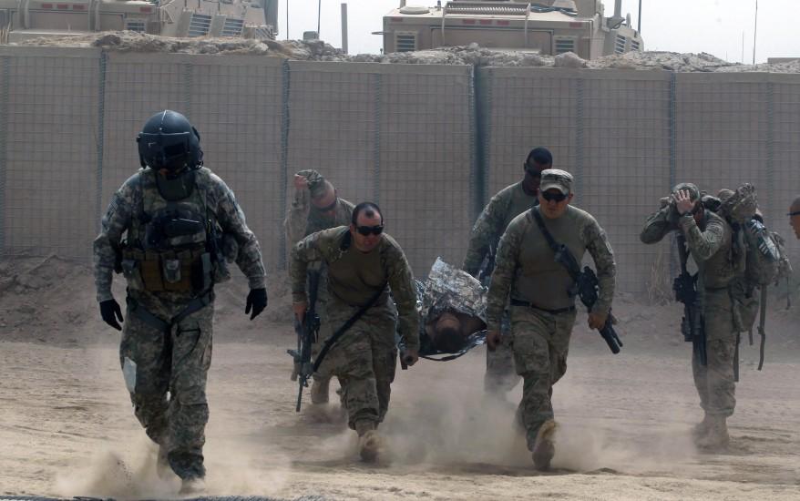 Afghanistan-U.S. soldiers