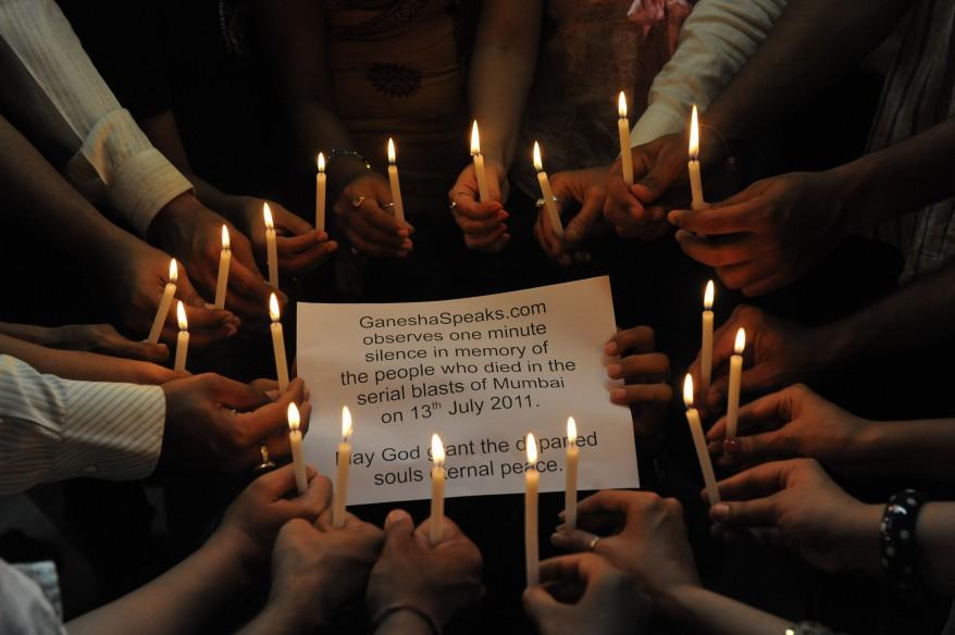 """India Attack Candle-light Vigil"""
