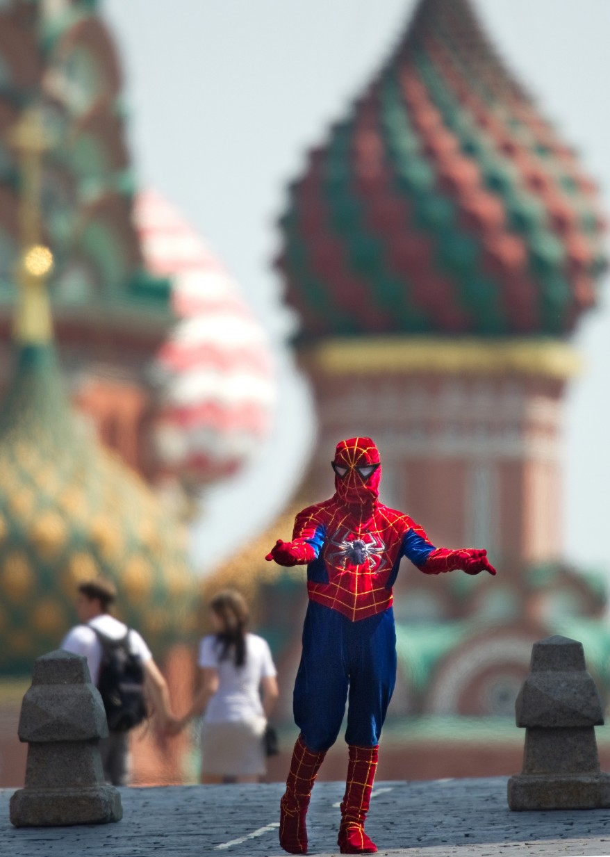 """Russia Spiderman"""