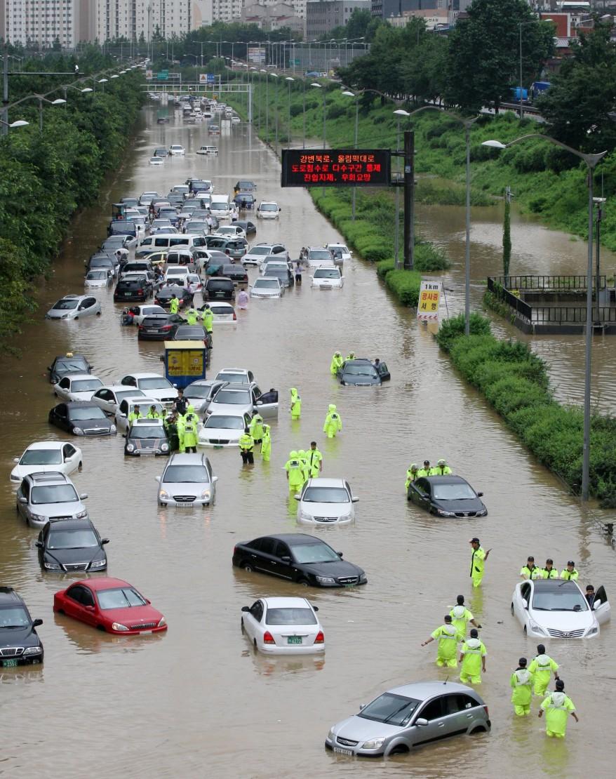 """""""South Korea Landslide"""""""