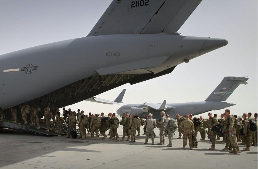 """""""Afghanistan US Troops Withdrawal"""""""