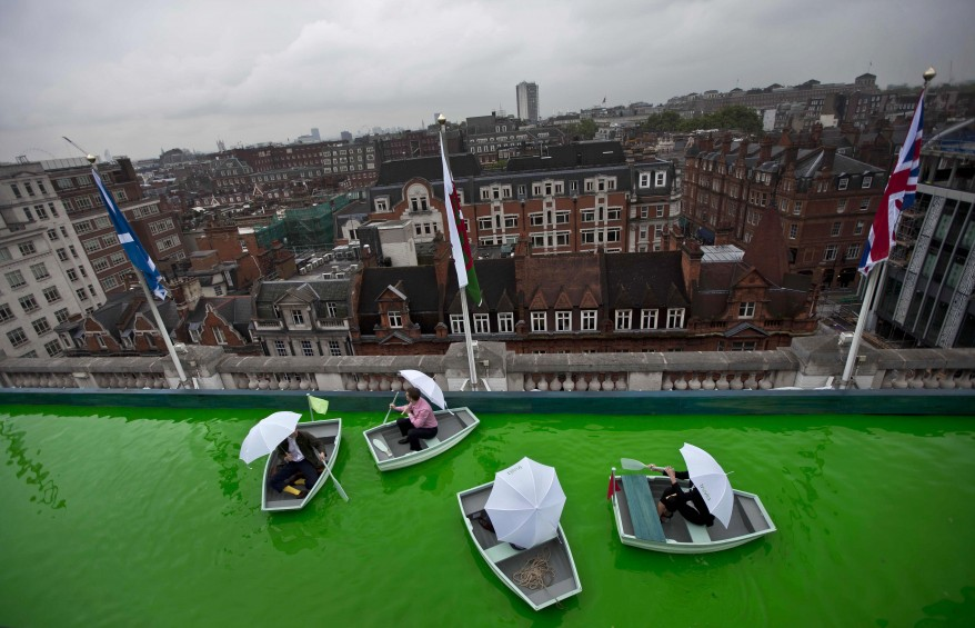 """Britain Boating Lake Installation"""