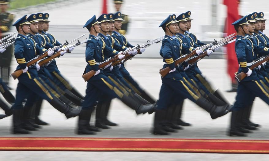 """China Peoples Liberation Army"""