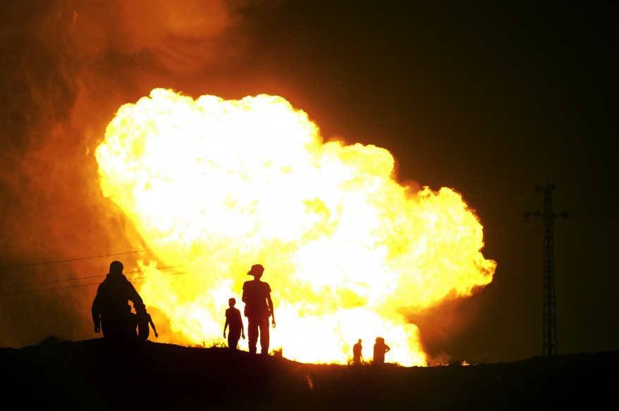"""Egypt-Gas Pipeline Explosion"""