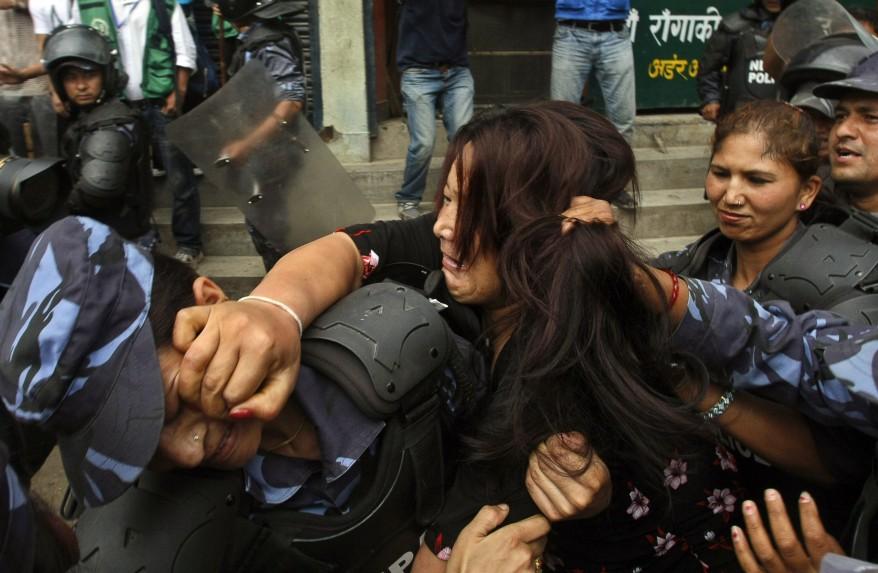 """Nepal Tibetan Protest"""