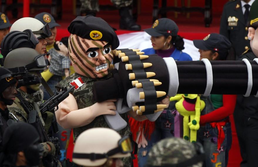 """""""Peru Military Parade"""""""