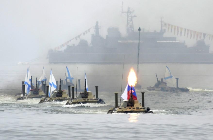 """""""Russia Navy Day Parade Rehearsal"""""""