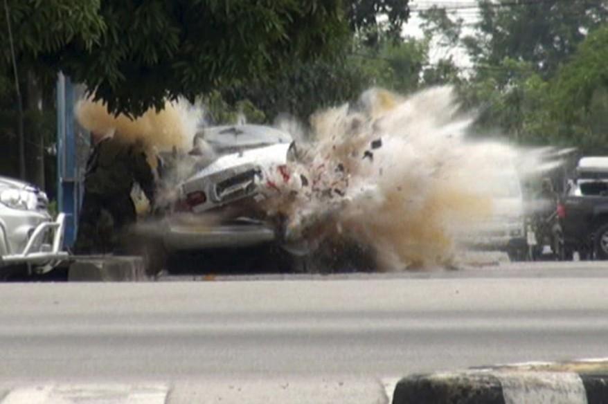 """Thailand Bomb Explosion"""