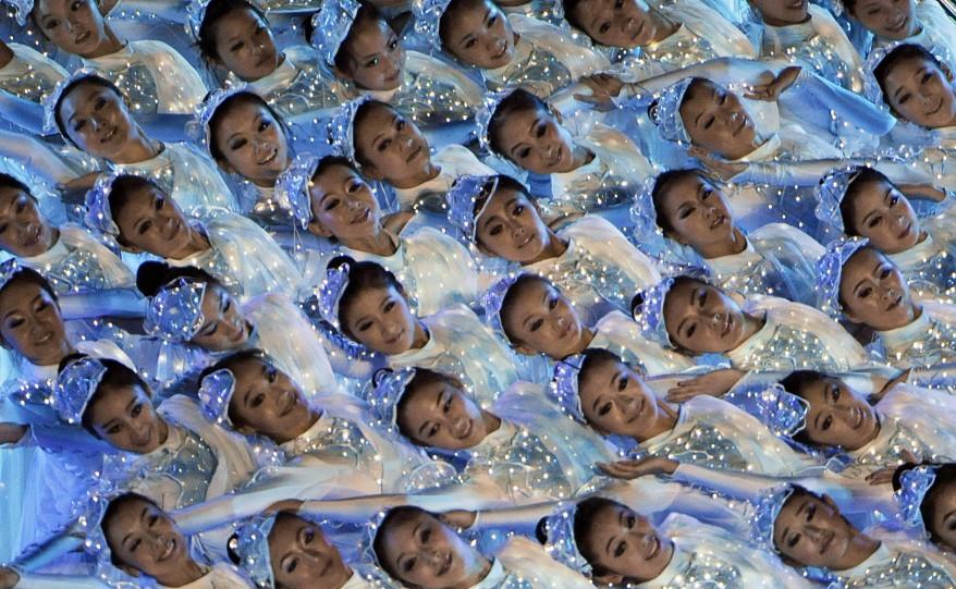 China-Swimming Close