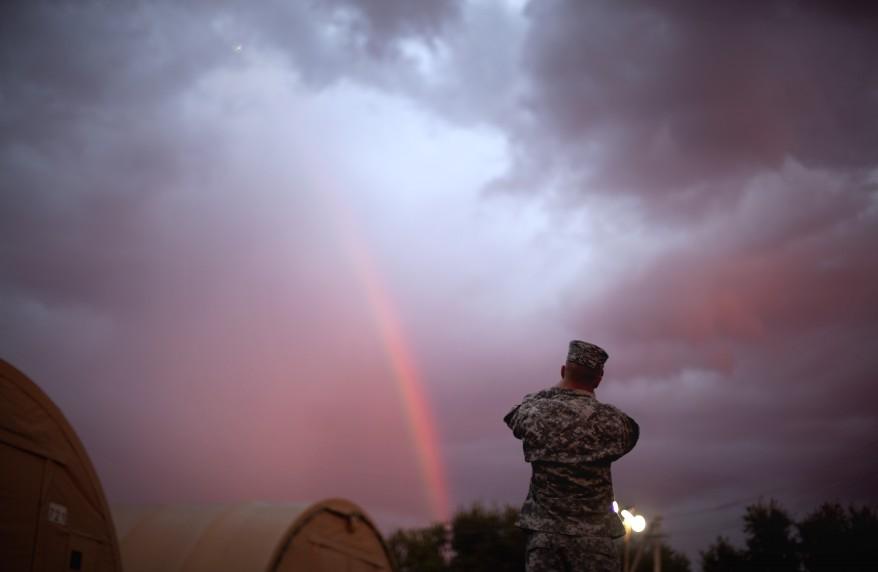 US Troops Afghanistan Kyrgyzstan