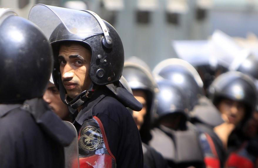 Egypt Tahrir Riot Police