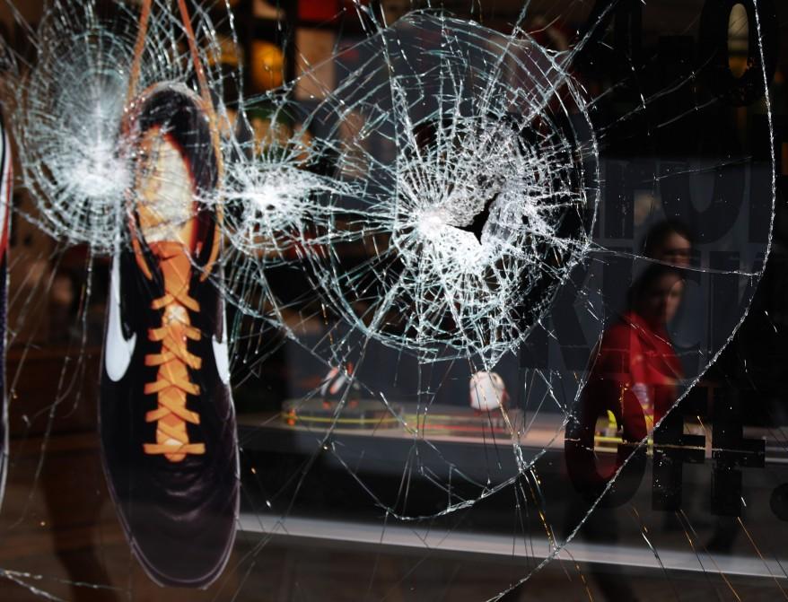 Manchester England Riots