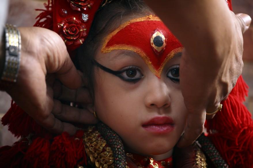 Nepal Goddess Kumari