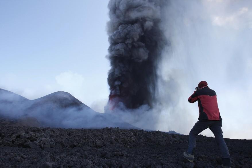 Sicily Mount Etna Volcano
