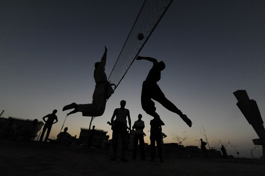 AFGHANISTAN VOLLEYBALL DAILY LIFE
