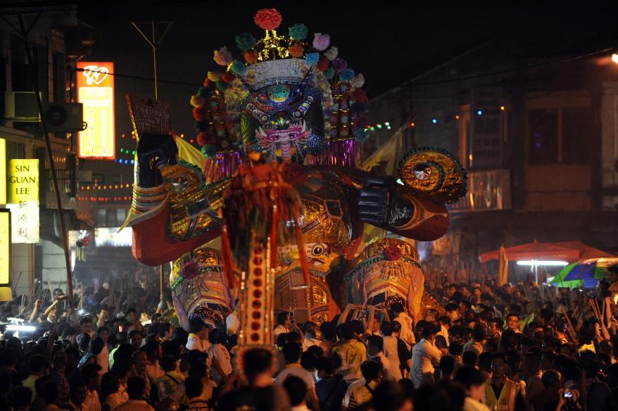 """Malaysia China Ghost Festival"""