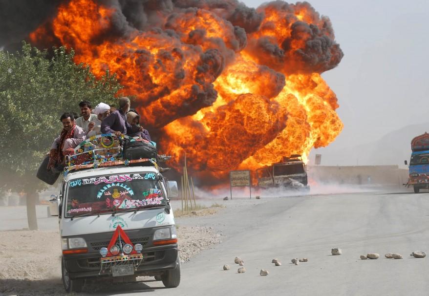 """Pakistan Unrest NATO"""