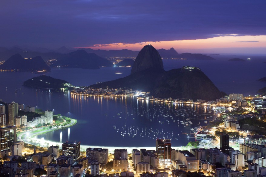 """Brazil Sugarloaf Mountain"""