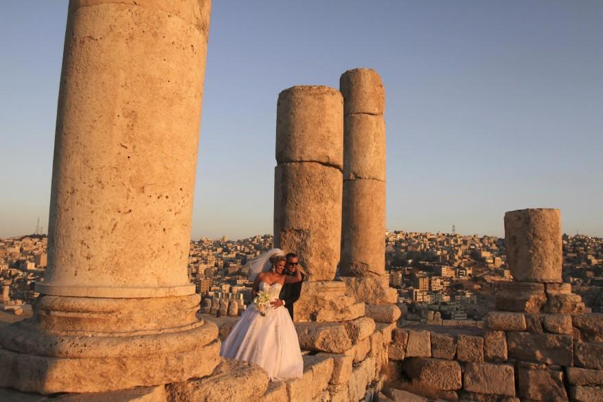 Amman Jordan Newlyweds
