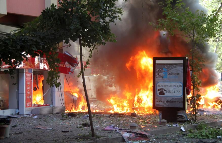 """Turkey Explosion"""