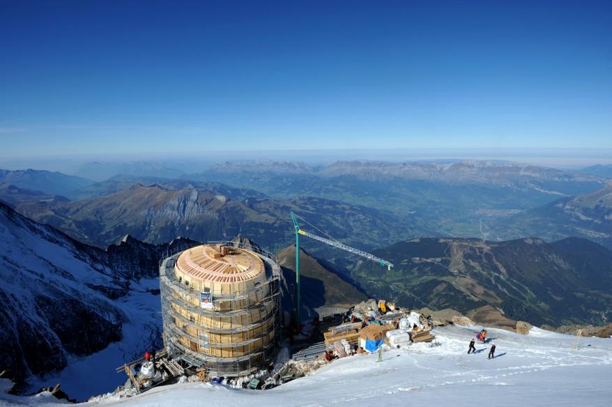 """""""France Alps Refuge du Gouter"""""""