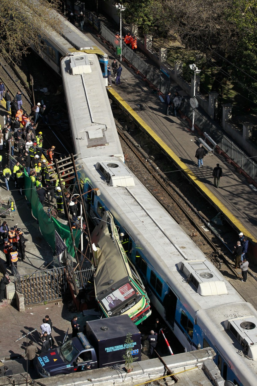 """Argentina Bus Train Crash"""
