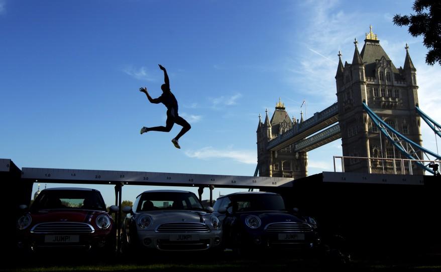 """""""Britain Olympics Jump"""""""