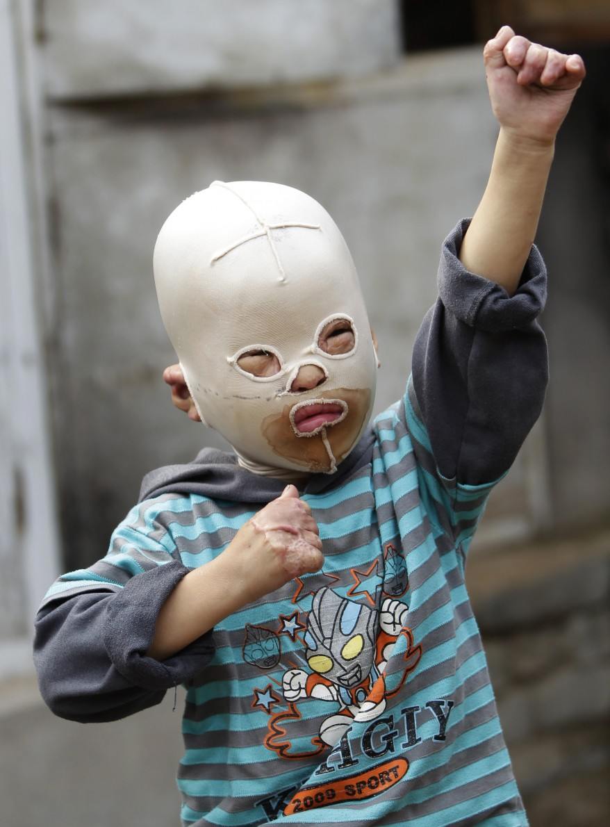 """China Masked Boy"""
