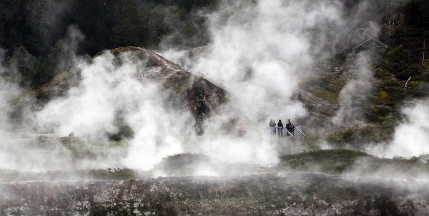 New Zealand Moom Geothermal Par""