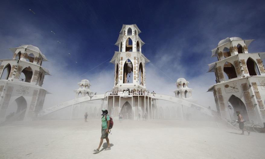 """Burning Man 2011 Rites of Passage"""