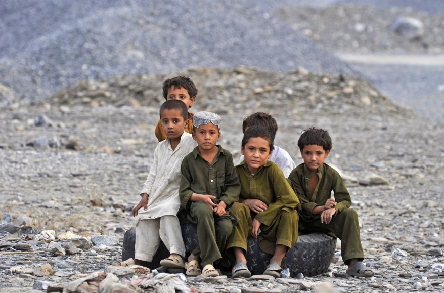 Afghanistan Border Children