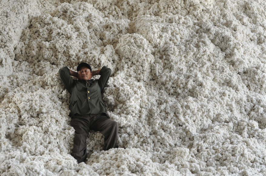 China Cotton Worker