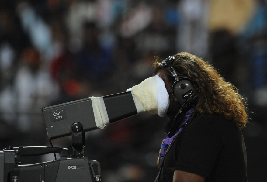 """India Cricket TV Cameraman"""