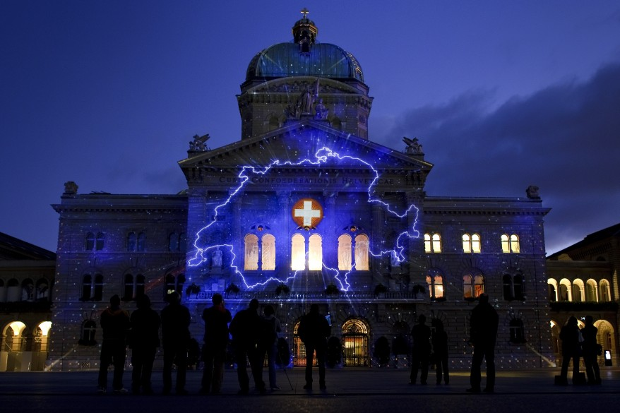 """Switzerland Parliament Light"""