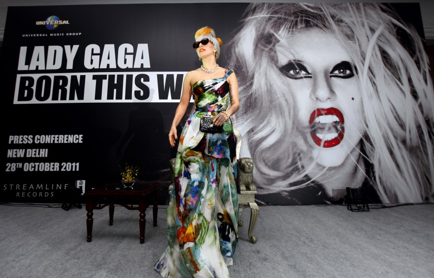 """India Lady Gaga"""