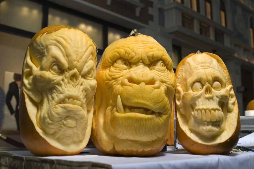 """""""Las Vagas Pumpkin Carving Exhibition"""""""
