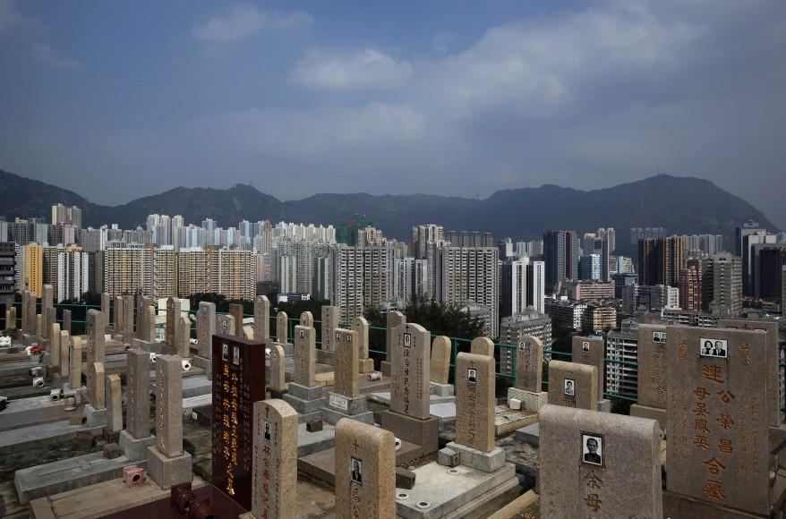 """Hong Kong Gravestones"""