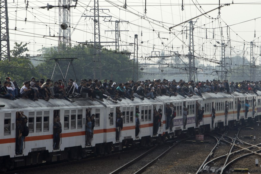 """Indonesia Commuter Train"""