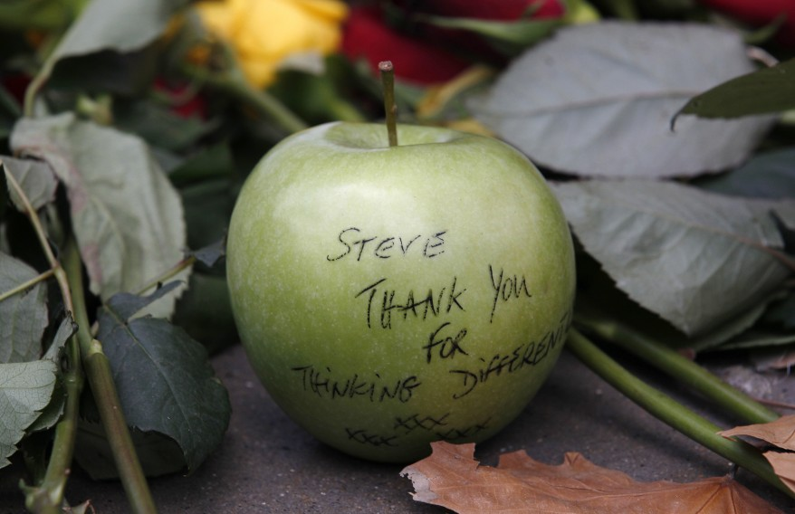 """London Tributes to Steve Jobs"""